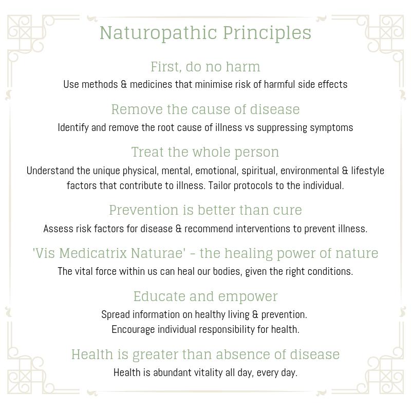 Naturopathic principles